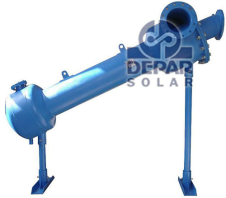 Seawater intake of solar industrial water desalination system